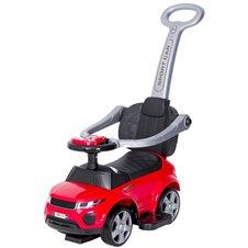 Paspiriamasis automobilis/stumdukas TM su garsais 614R Sport Car Red