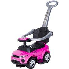 Paspiriamasis automobilis/stumdukas TM su garsais HZ614W Pink/Black