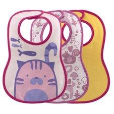 Seilinukai CHICCO 3vnt 6mėn+ 086764 Pink