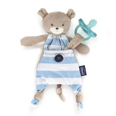 Minkštas žaislas CHICCO Pocket Friend Bear 072422 Blue