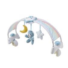 Muzikinis lankas ant lovytės CHICCO Rainbow Sky 143290 Blue