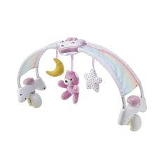 Muzikinis lankas ant lovytės CHICCO Rainbow Sky 143283 Pink