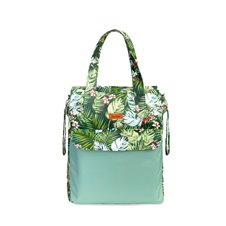 Krepšys mamai SILLO Jungle Green