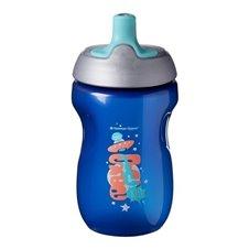 Gertuvė TOMMEE TIPPEE Sport Boy 260ml 12mėn+ 471574 Blue