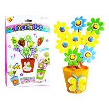 Kūrybinis siuvimo rinkinys JOK Sukurk gėlių vazoną PTP00583