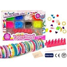 Guminių apyrankių pynimo rinkinys JOK Bracelet Maker 650vnt PTP00992