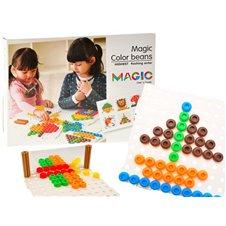 Smeigtukai JOK Magic Color Beans 3D 195vnt PTP01707