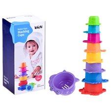 Žaislai maudynėms JOK Puodelių Piramidė PTP01968