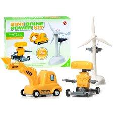 Kūrybinis saulės energijos rinkinys JOK 3in1 Brine Power Kit PTP02038