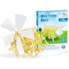 Edukacinis vėjo varomas rinkinys JOK Wind Power Beast PTP02246