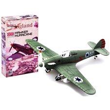 Surenkamas lėktuvo modelis JOK Hawker Hurricane PTP02588