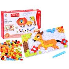 Edukacinė dėlionė JOK Puzzle Animal PTP02667 Red