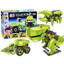 Edukacinis dinozauro rinkinys JOK Solar Robot 4in1 PTP02921