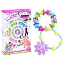 Kūrybinis karoliukų rinkinys JOK Fashion Girls PTP03395