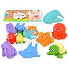 Guminių gyvūnų rinkinys JOK Sea Animals  6vnt PTP03510