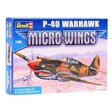 Lėktuvas Revell Micro Wings Model P-40 Warhawk 1:144 RV0019