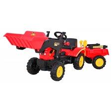 Traktorius RMZ su priekaba ir kaušu Gokart