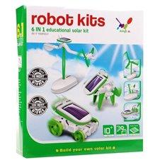 Kūrybinių saulės robotų rinkinys RMZ Robot Kits 6in1 (XB490)