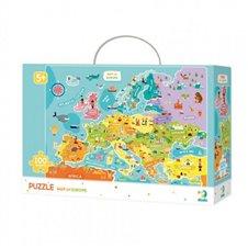 Dėlionė Dodo Europos žemėlapis (100 det.)