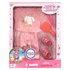 Pižamos rinkinys lėlei WOOPIE su priedais 43-46cm Baby MayMay