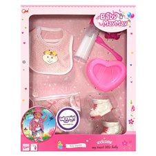 Lėlių maitinimo rinkinys WOOPIE Baby MayMay Pink