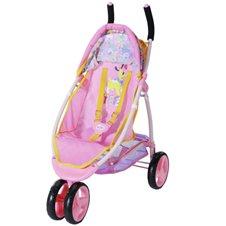 Lėlės sportinis vežimėlis BABY BORN Rožinis
