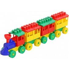 Traukinys WADER su vagonais