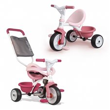 Triratukas SMOBY Be Move Comfort Pink