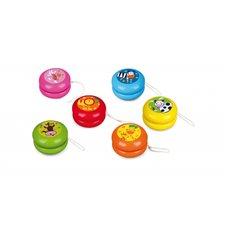 Medinis Jojo žaisliukas VIGA Colorfull YoYo