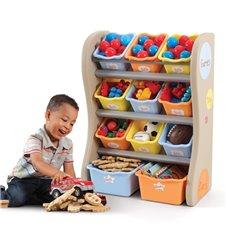 Spintelė vaiko kambariui STEP2 su konteineriais daiktams