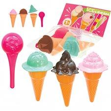 Ledų formelės smėliui MOCHTOYS Ice cream