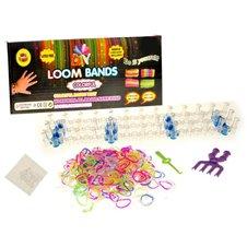 Apyrankių pynimo rinkinys JK Loom Bands 600vnt PTP00995