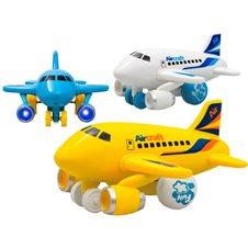 Lėktuvas JK su šviesos ir garso efektais Aircraft PTP01999
