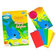 Kūrybinis rinkinys JK Mosaic Dolphin PTP02054