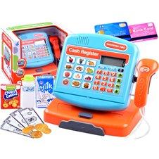 Elektroninis kasos aparatas JK Cash Register PTP03883 Blue