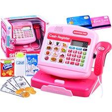 Elektroninis kasos aparatas JK Cash Register PTP03883 Pink