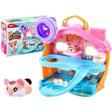 Interaktyvus namelis JK Little Hamsters Set PTP03988