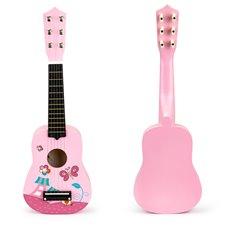 Vaikiška gitara Eko žaislai rožinė