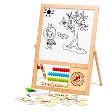 Mokomoji magnetinė lenta Eko Žaislas su abaku 2in1