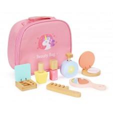 Medinis kosmetikos rinkinys Eko Žaislas su krepšiu