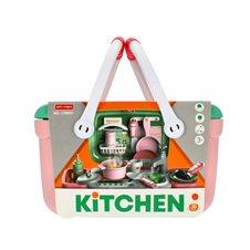 Virtuvė krepšelyje MEGACREATIVE su priedais Kitchen 459225