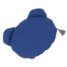 Meškiuko formos pagalvėlė MAMO-TATO Muslinas DG Mėlyna