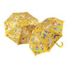 Magiškas skėtis F&R Vaivorykštės fėja