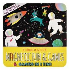 Magnetinis žaidimas F&R Kosmosas 4in1