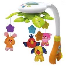 Muzikinė karuselė SMILY PLAY Animal Tree