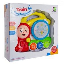 Traukinys - būgnas Euro Vaikas Train Hands Beat Drums 3mėn+ 0638702
