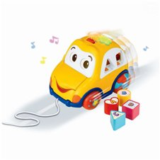 Automobilis SMILY PLAY su efektais Funny Car