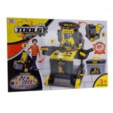Dirbtuvės Euro Vaikas Deluxe Tool Set 0896550