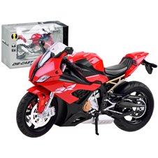 DieCast Motocykl S1000RR dźwięk światło PTP03906 Red