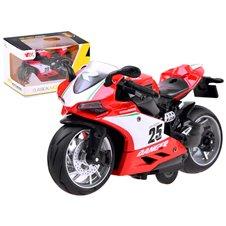 Diecast model Motocykl z naciągiem zabawka PTP03933 B